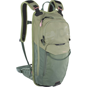 EVOC Stage Mochila Technical Performance 6l + Bolsa Hidratación 2l, light olive/olive